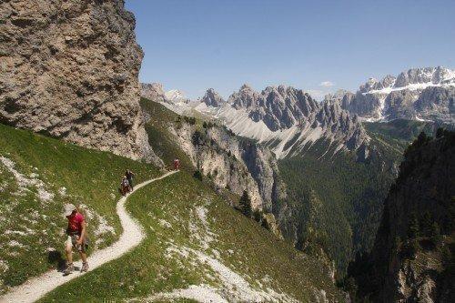 Vacanze attive nelle Dolomiti - Escursioni in Val Gardena